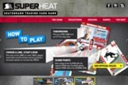 SuperHeat TCG Website Main Page