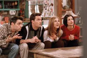 Joey, Chandler, Rachel and Monica