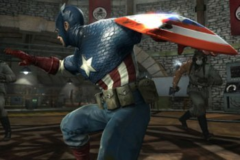 Captain America: Super Soldier screenshot shield throw