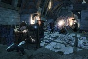 Harry Potter and the Deathly Hollows: Part 2 xbox 360 screenshot third person cover shooter