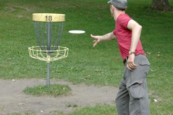 Fisbee Golf