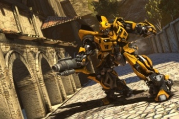 Transformers: Dark of the Moon screenshot bumblebee robot mode