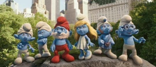 Feature smurfs feature