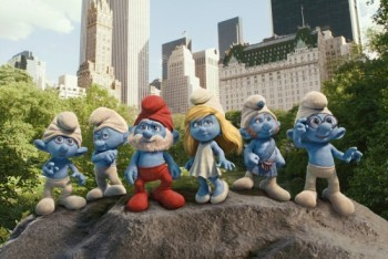 The Smurfs hit New York City