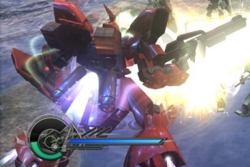 Dynasty Warrior Gundam 3 screenshot red gundam