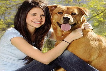 Selena Gomez and Chip