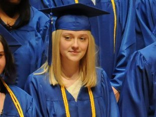 Dakota graduated in the spring