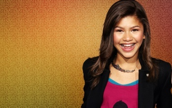 Zendaya attended an arts high school before landing her role on Shake it Up!