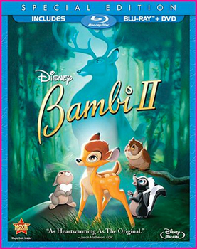 Bambi II Special Edition Blu-Ray   DVD