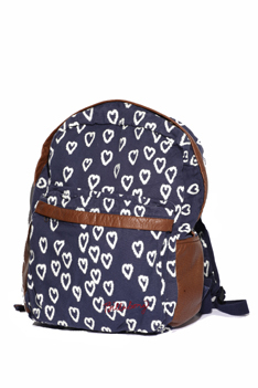 Billabong's Still Rocking Backpack has a coll all-over print