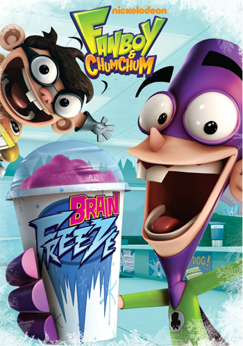 Fanboy and Chum Chum: Brain Freeze DVD