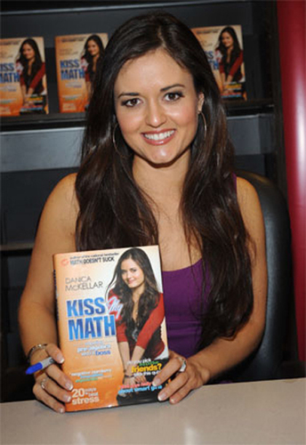 Danica McKellar is a math whiz