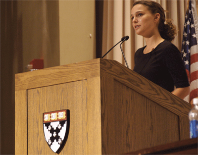 Natalie Portman is Ivy League