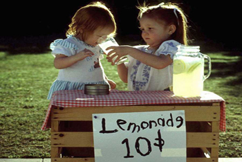Lemonade Stand Summer