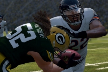 Madden NFL 12 Bears vs Packers