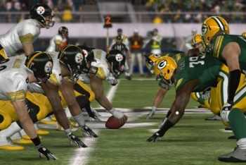 Madden NFL 12 screenshot Packers vs. Steelers