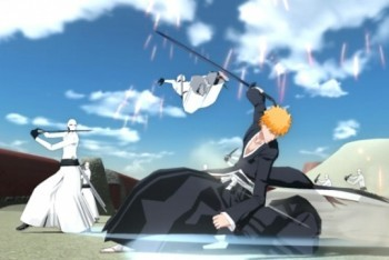 Bleach: Soul Resurreccion screenshot Ichigo defeating Arrancars