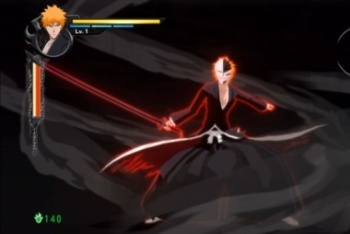 Bleach: Soul Resurreccion screenshot Ichigo hollow form