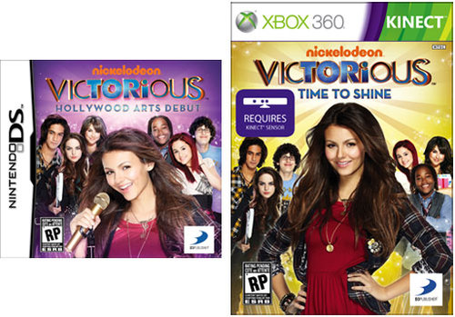 Victorious: Hollywood Arts Debut and Victorious: Time to Shine