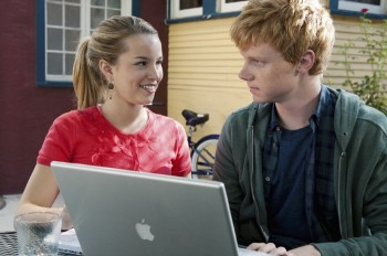 Adam Hicks and Lemonade Mouth co-star Bridgit Mendler