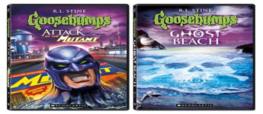 Goosebumps DVDs: Attack of the Mutant & Ghost Beach Goosebumps Ghost Beach Dvd