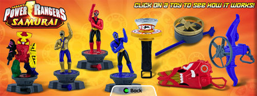 Power Rangers Samurai Toys