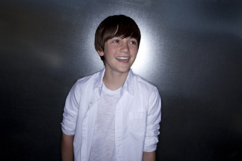 Greyson's first single is 'Waiting Outside the Lines'