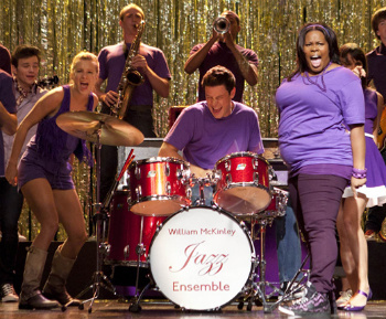 Glee: Season 3, Episode 1 :: Purple Piano Project