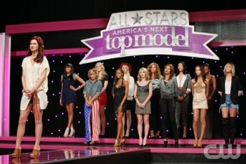 America's Next Top Model: Cycle 17, Episode 2 :: Ashlee Simpson