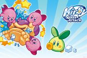 Kirby Mass Attack art