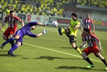 FIFA 12 Shooting at goal