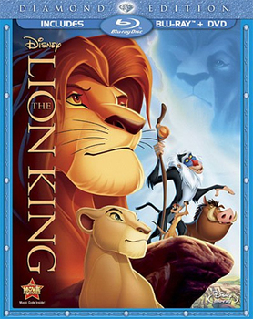 The Lion King Diamond Edition DVD