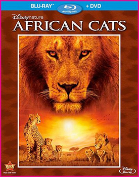 African Cats Blu-Ray   DVD