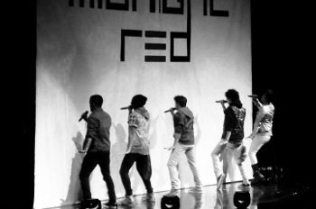 Midnight Red performing their hit