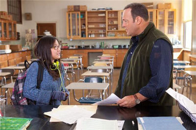 Charice as Malia with Kevin James as Scott