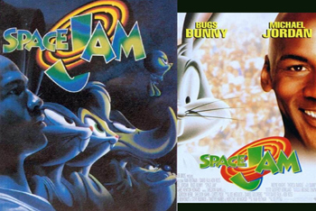 Michael Jordan vs Bugs Bunny