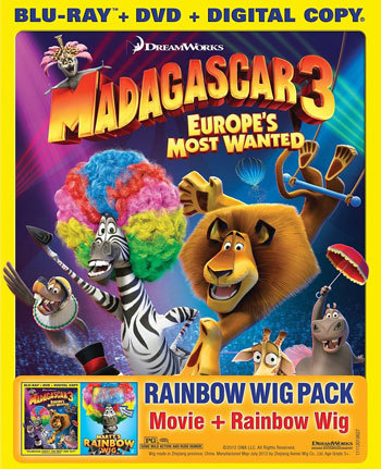 Cover Art for Madagascar 3
