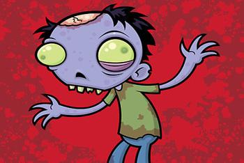 The Zombie Look