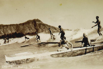 1st surfers ever