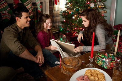 Christmas with Kristen and Taylor