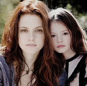 Mackenzie with Kristen