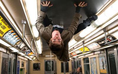 Andrew's ceiling stunt