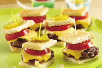 All American Burger Bites