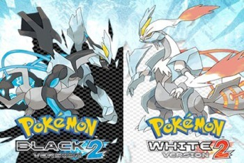 Pokemon Black and White 2 boxart