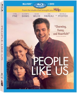 People Like Us on Blu-Ray and DVD