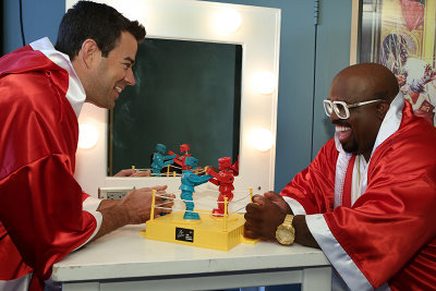 Carson and CeeLo do toy