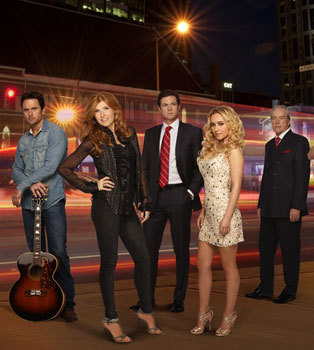 The cast of Nashville
