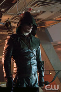 Arrow's Robin Hood vibe