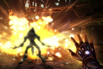 Fable: The Journey screenshot fire explosion