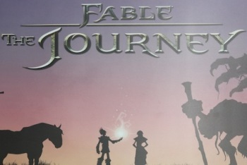 Fable: The Journey Title Screen